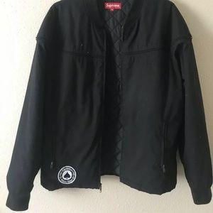 SUPREME x THRASHER poplin crew jacket